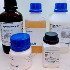 vwr, chemicals, lecithin , antifoam, saponin, tween